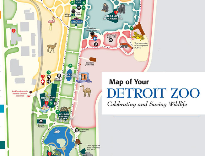 map of detroit zoo Where To Find Us Detroit Water Ice Factory map of detroit zoo